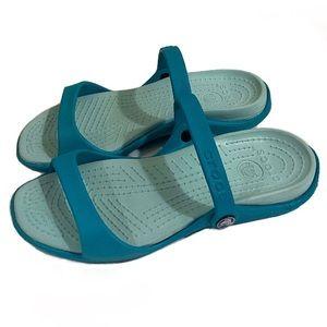 Crocs Blue Women's Sandals Size 8